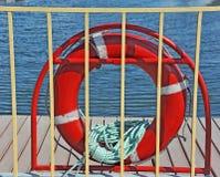 Lifebuoy z arkaną Zdjęcia Stock