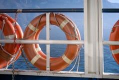 lifebuoys Imagem da cor Imagens de Stock Royalty Free