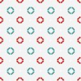 Lifebuoys pattern Stock Images