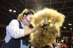 Lifeford a enchanté princesse Bridal Makeup 2017, rond final à B Photos libres de droits