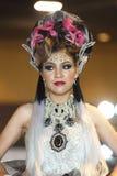 Lifeford a enchanté princesse Bridal Makeup 2017, rond final à B Image libre de droits