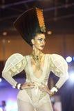 Lifeford a enchanté princesse Bridal Makeup 2017, rond final à B Photographie stock