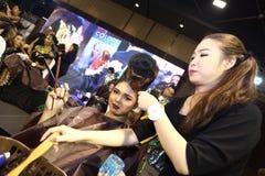 Lifeford Verrukte Prinses Bridal Makeup 2017, Definitieve Ronde bij B Stock Afbeeldingen