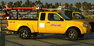 Lifegaurd Truck Royalty Free Stock Image
