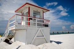 lifeguard πύργος Στοκ εικόνες με δικαίωμα ελεύθερης χρήσης