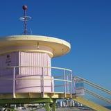 lifeguard ρόδινος πύργος Στοκ Φωτογραφίες