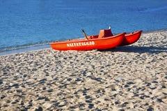 lifeguard σκάφος στοκ φωτογραφίες