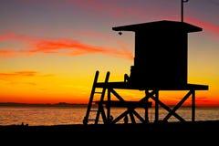 lifeguard στάση Στοκ Φωτογραφίες