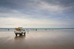 Lifeguard στην Κορνουάλλη, UK στοκ εικόνες με δικαίωμα ελεύθερης χρήσης