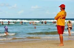 Lifeguard στην υπηρεσία στοκ εικόνα με δικαίωμα ελεύθερης χρήσης