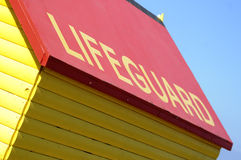Lifeguard fotografia de stock royalty free