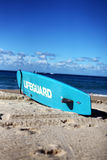 Lifeguard. Surf Board at the popular Coogee beach in Sydney, Australia Royalty Free Stock Photos