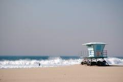 Lifeguard. California beach lifeguard on a windy day Stock Photography