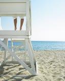 Lifeguard at Beach Royalty Free Stock Photos