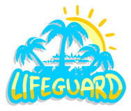 Lifeguard beach Royalty Free Stock Image