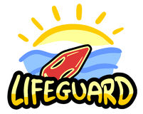 Lifeguard beach Royalty Free Stock Photography