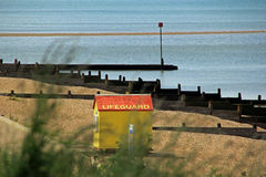 Lifeguard beach hut Stock Photo