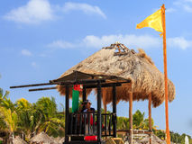 Lifeguard on the beach Royalty Free Stock Photo
