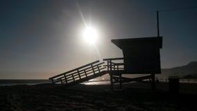 Lifeguard beach station Royalty Free Stock Photos