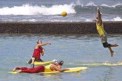 Lifeguard Block Stock Photo