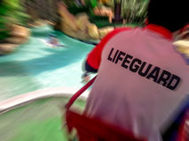 Lifeguard. stock photography