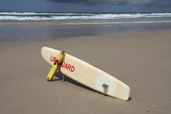 Lifeguard board Royalty Free Stock Image