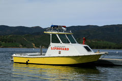 Lifeguard Boat Stock Images