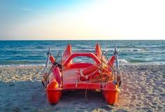 Lifeguard boat Stock Image