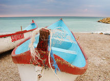 Lifeguard boats Stock Images