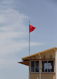 Lifeguard booth Royalty Free Stock Photography