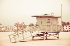 Lifeguard booth, Venice beach Royalty Free Stock Photos
