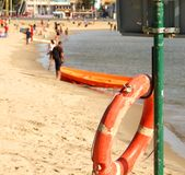 Lifeguard buoy Stock Images