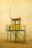 Lifeguard cabin Royalty Free Stock Photos