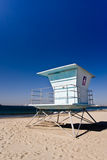 Lifeguard cabin Royalty Free Stock Images