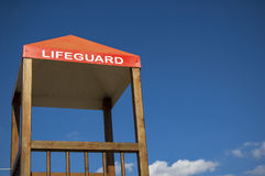 Lifeguard cabin Stock Photos