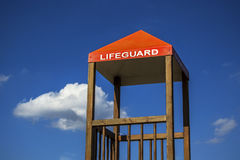 Lifeguard cabin Stock Images