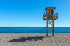 Lifeguard Calahonda Beach Stock Photography