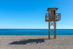 Lifeguard Calahonda Beach Stock Photography