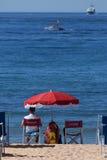 Lifeguard - Cannes - Riviera francês foto de stock royalty free