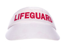 Lifeguard cap Royalty Free Stock Photography