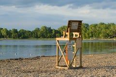 Lifeguard Chair Stock Photo