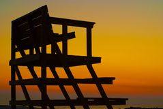 Lifeguard chair Royalty Free Stock Photography