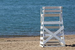 Lifeguard chair Stock Photo