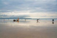 Lifeguard in Cornwall, UK. Royalty Free Stock Photo