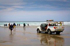 Lifeguard in Cornwall, UK. Stock Image