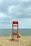 Lifeguard da praia foto de stock royalty free