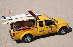 Lifeguard de Los Angeles fotografia de stock