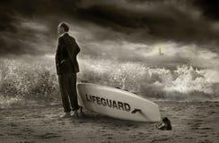 Lifeguard do negócio imagens de stock