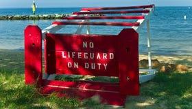 Lifeguard Down Royalty Free Stock Photo
