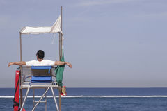 Lifeguard on Duty Stock Images